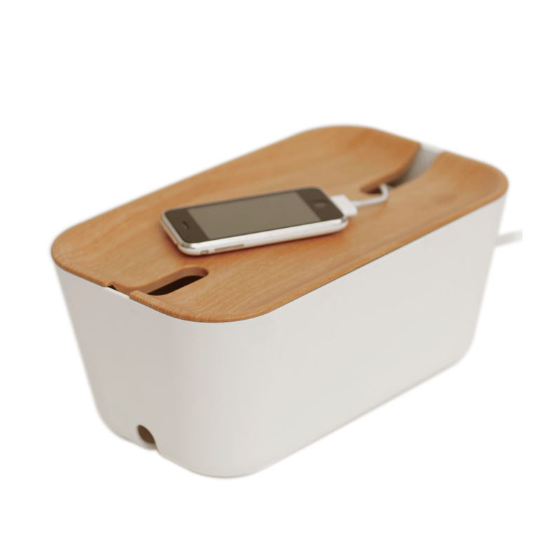 Hideaway charger and power strip box from BoSign - LAPADD