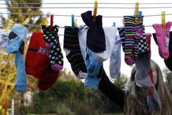 que faire de vos chaussettes orphelines si vous n avez pas la pince chaussettes. Black Bedroom Furniture Sets. Home Design Ideas