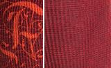 Les coloris de la chaussette de compression douce FunqWear : rouge