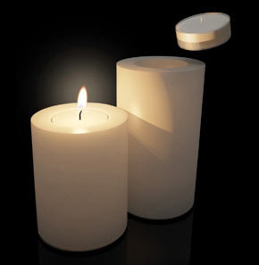bougies permanentes sans coulure design trend farluce. Black Bedroom Furniture Sets. Home Design Ideas