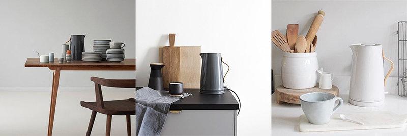 bouilloire lectrique 1 2 litres blanc emma stelton. Black Bedroom Furniture Sets. Home Design Ideas