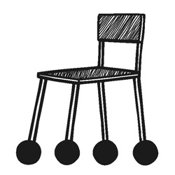 les patins de chaise anti bruit et anti rayures silent socks. Black Bedroom Furniture Sets. Home Design Ideas
