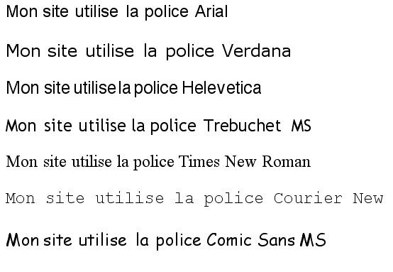 police trebuchet ms