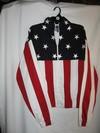 BLOUSON AMERICAN FLAG HOMME