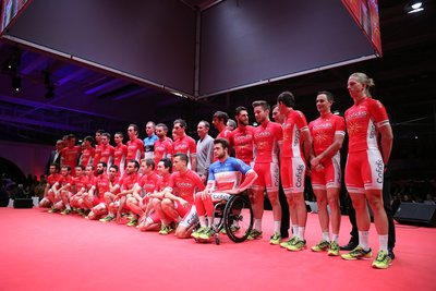 cofidis pro cycling team 2016 presentation velodorme stab roubaix photo laurent sanson