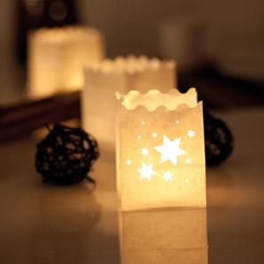 voir lanternes, lampions et photophores en papier
