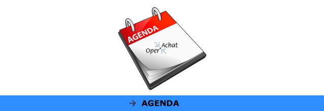 L'agenda des reunions OperAchat