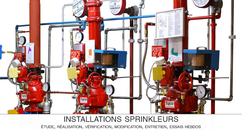 ACSI conçoit, vérifie et entretient vos installations de sécurité incendie