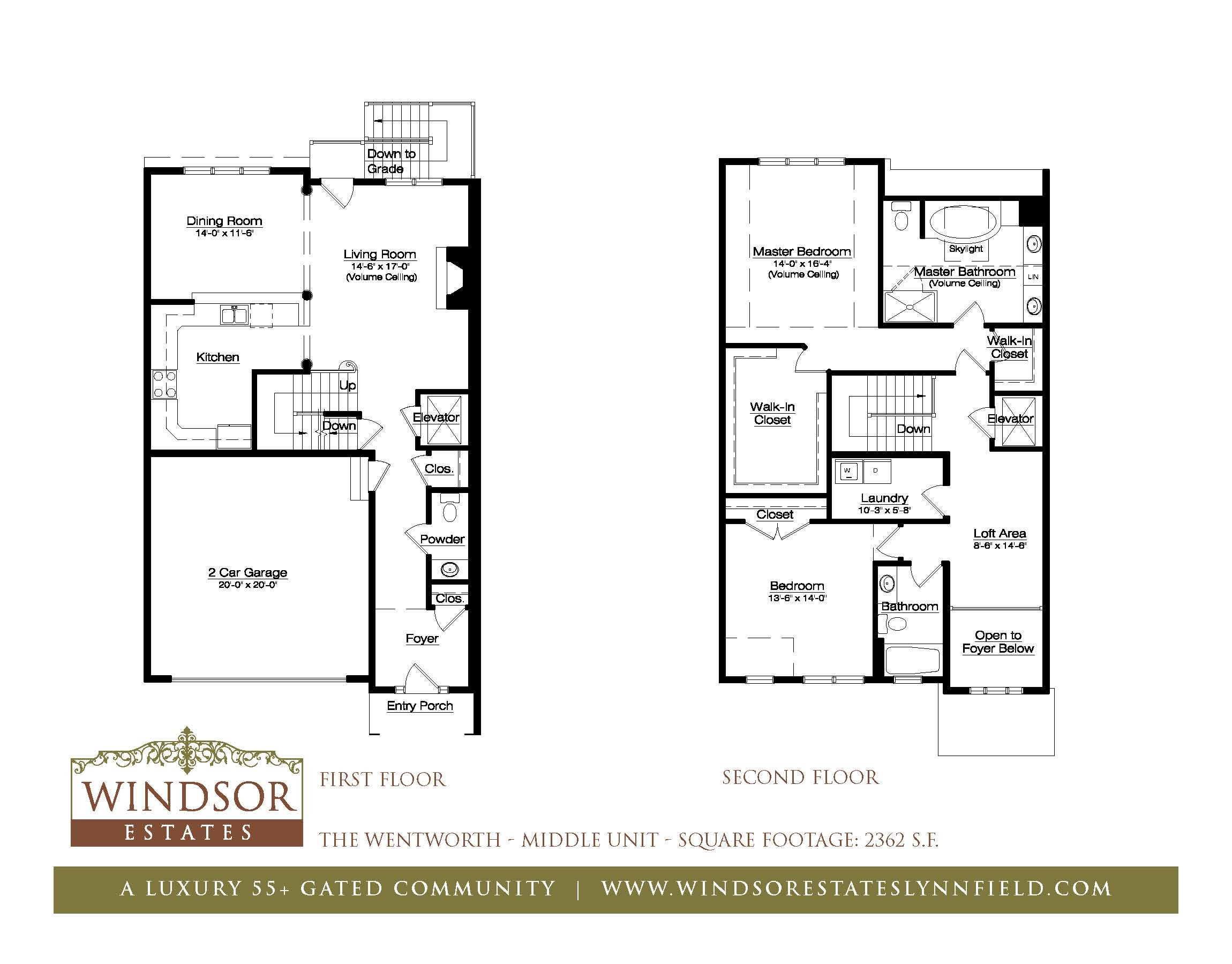 Windsor Estates Town Homes 55 Adult Communities Ma