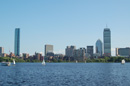 Boston Skyline view from Cambridge,MA