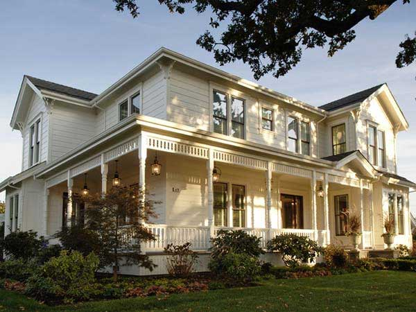 Farmhouse Style House Vermont