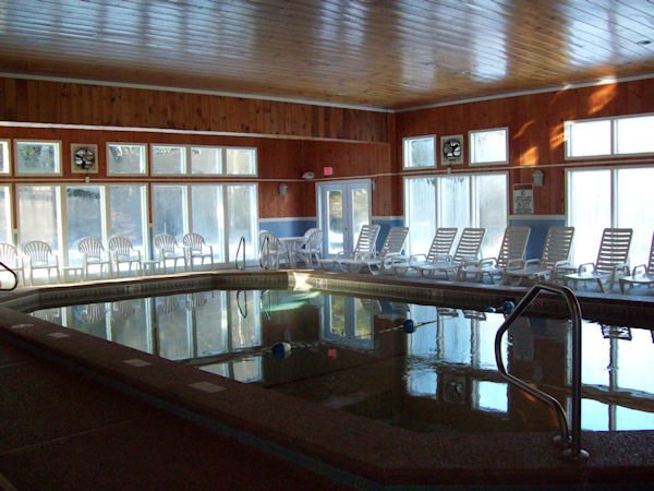 clubhouse and pool at Seasons Of Attitash