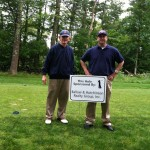 Dave Hutchinson and Mike Ballow on tournament day!