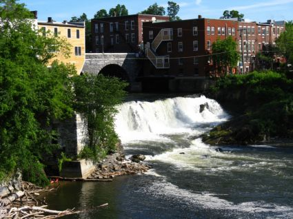 the Falls, Middlebury, VT