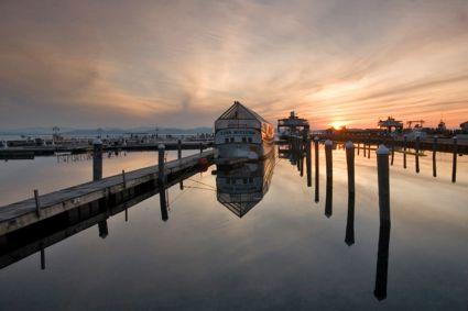 Burlington VT Waterfront Pier