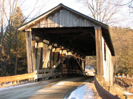 Quinlan Bridge in Charlotte VT