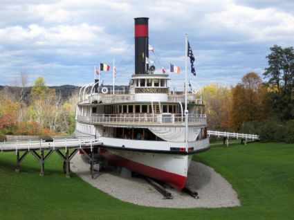 The Ticonderoga, Shelburne Museum, Shelburne, VT