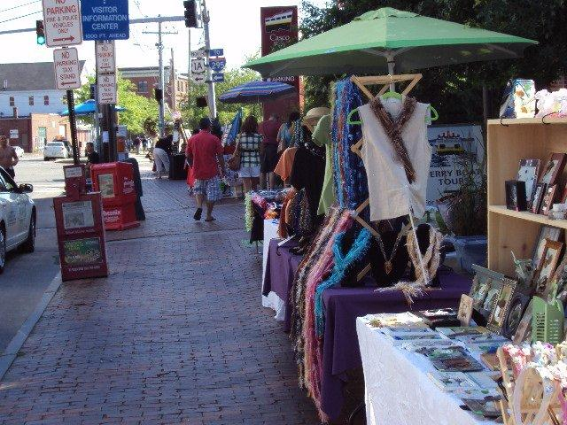 Portland Maine Commercial Street Market