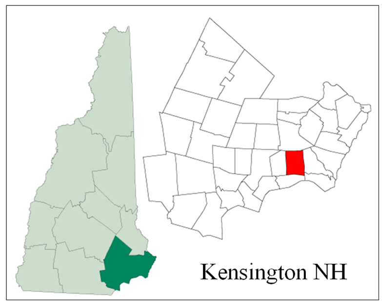 Southern NH Real Estate For Sale Southern NH Properties For Sale - Southern nh map