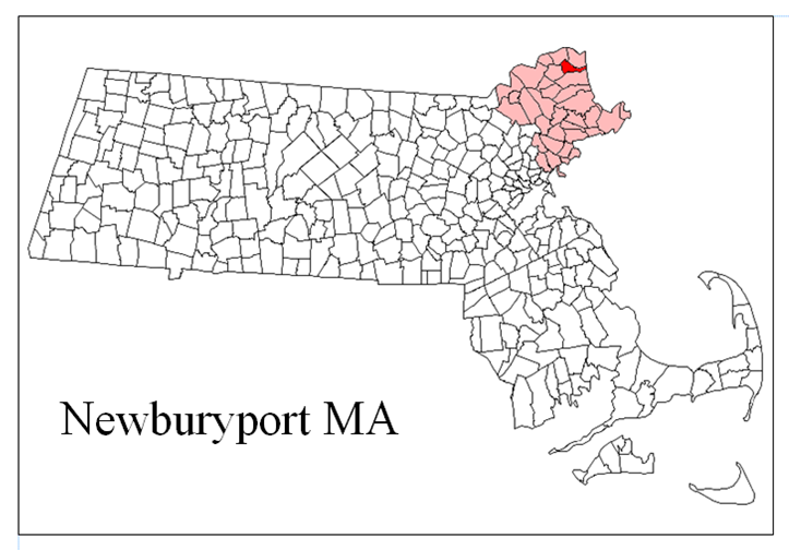 Newburyport MA Map