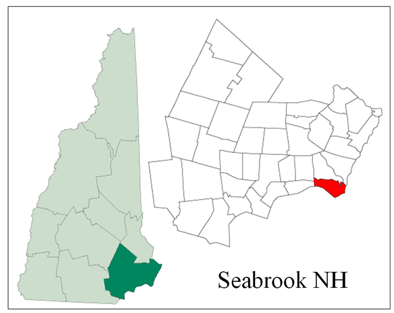 Seabrook NH Map