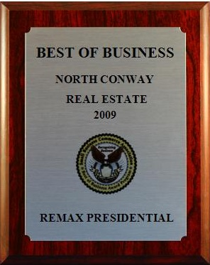 2009 Best of Business Award Plaque in Real Estate (SBCA)