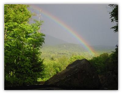 Spring Rainbow, Bartlett, NH