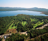 Aerial View of Ossipee Lake, Ossipee, NH