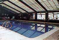 Indoor swimming pool at Attitash Mountain Village