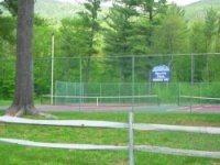 Tennis courts at Attitash Mountain Village