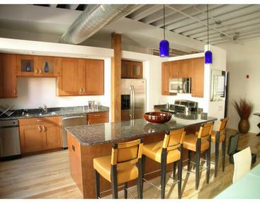109-119 Beach Street Lofts Kitchen