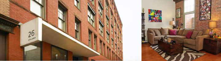 Stillman Street Lofts Boston MA