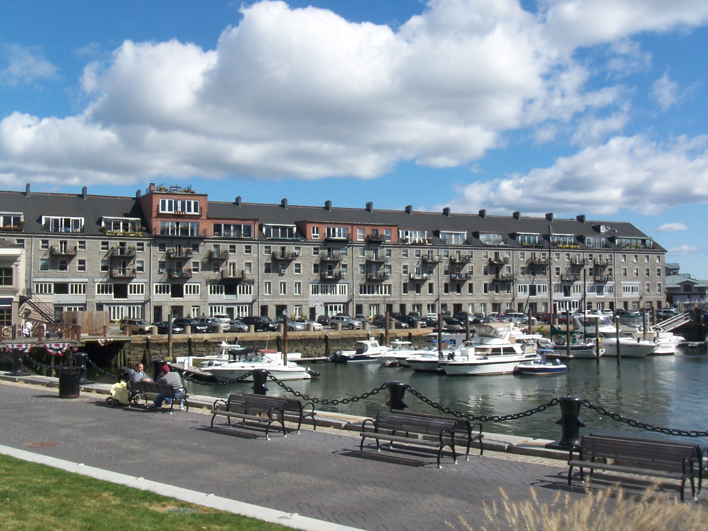 Commercial Wharf Condos in Boston