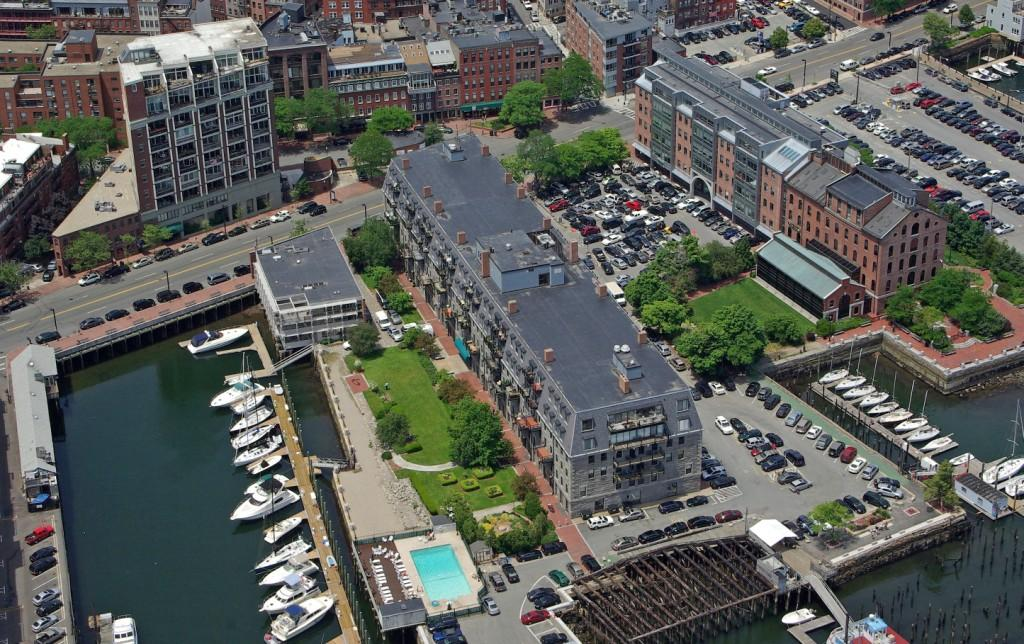 Lewis Wharf Homes in Boston