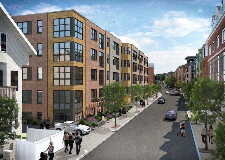 The Edge Apartments in Allston