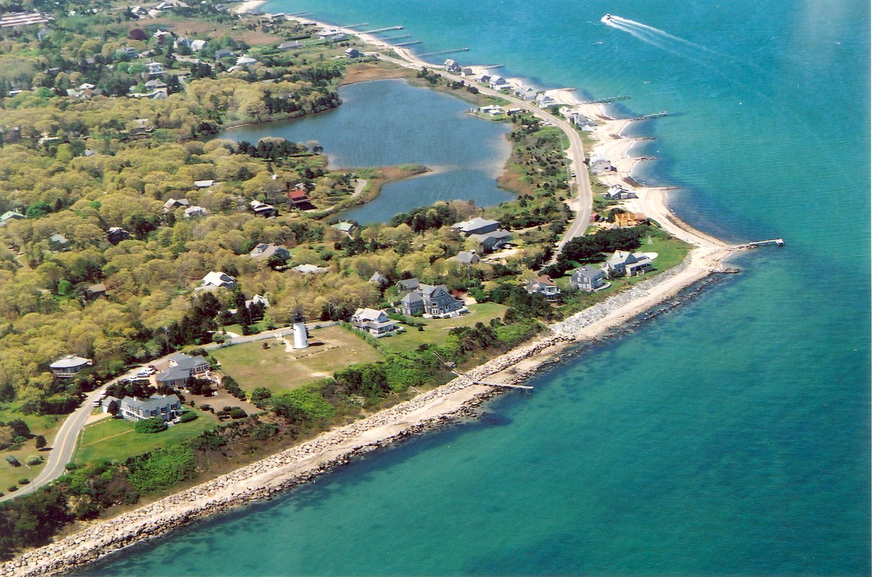 East Chop MA Coastline