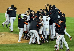 San Francisco Giants win the 2012 World Series