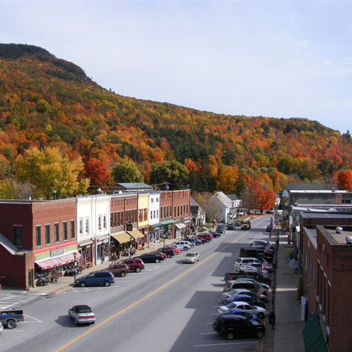 Bristol VT Downtown