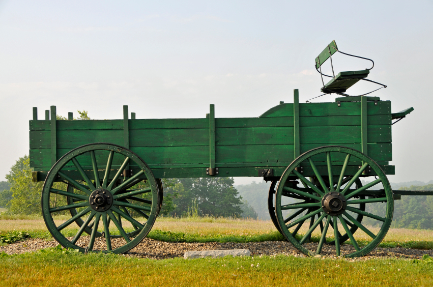 Durham NH farm wagon