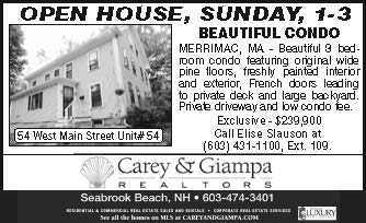 Carey and Giampa Open Houses