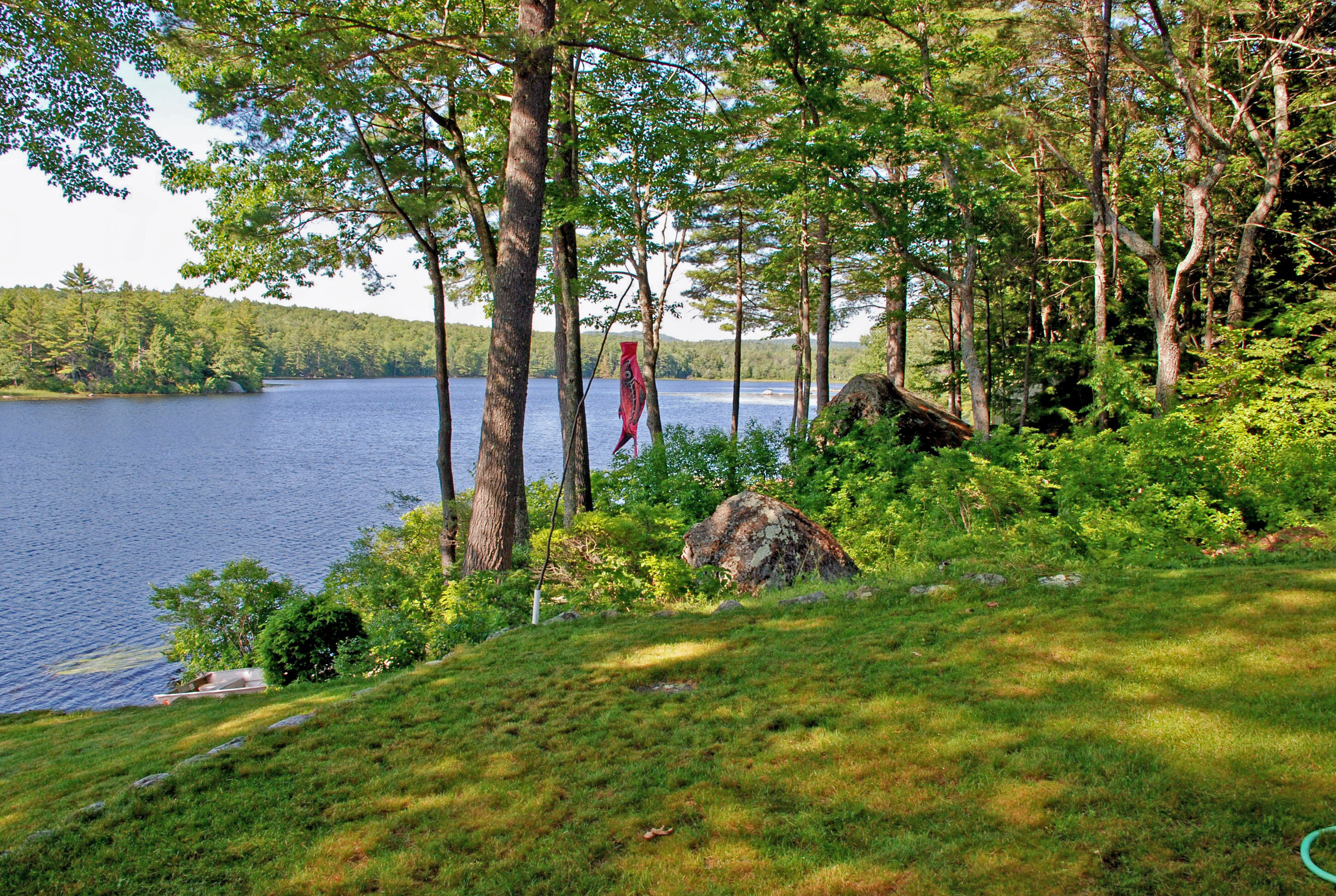 New hampshire maine and massachusetts waterfront lake for Cost of building a house in southern maine