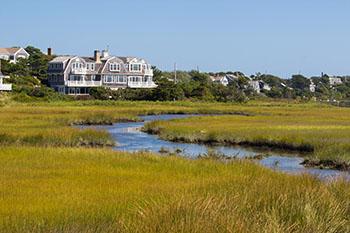 Marshfront Home in Cape Cod