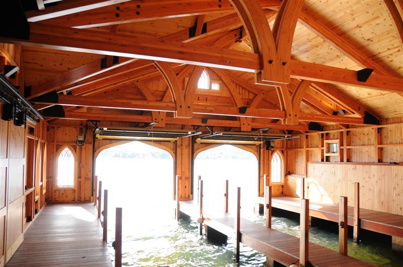 Wagon Wheel Boat House Lake Winnipesaukee