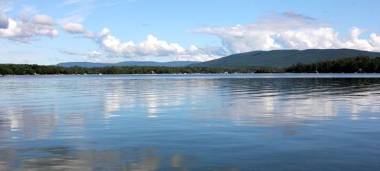 Lake Winnipesaukee Islands in New Hampshire