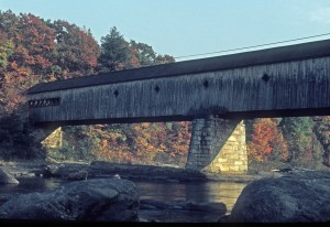 Dummerston Covered Bridge in Vermont