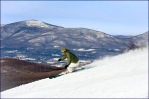 Vermont downhill skiing