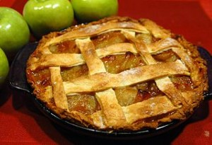 Vermont heirloom apple pie