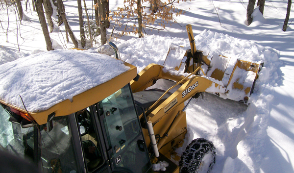 Vermont Vacation Rental Snow Removal