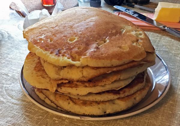 Vermont Breakfast - Pancakes