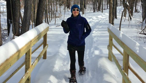 Snowshoeing in Southern Vermont
